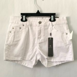 Tractr white jean shorts girls size 12